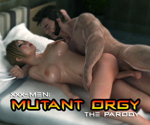 XXX Men Mutant Orgy Game